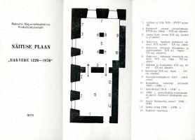 Rakvere 750. juubelile pühendatud näituse plaan, RM _ 3315 Ar1 269:3, Virumaa Muuseumid SA, http://www.muis.ee/museaalview/2859030.