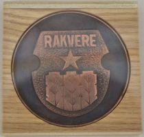 Rakvere 750. a. juubeliks tehtud vasest medal, mida kasutas Rakvere Linna TSN TK autasustamiseks. Kavandi autor Jaan Paju. Rakvere 750, RM _ 3343 Aj 551, Virumaa Muuseumid SA, http://www.muis.ee/museaalview/958630.