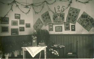 Rakvere Kreiskooli 125.aastapäeva näitus (aastal 1930?). RM F 707:8, SA Virumaa Muuseumid, http://www.muis.ee/museaalview/1708647.