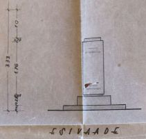 Kreutzwaldi monumendi alus. Muinsuskaitseameti arhiiv.