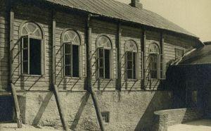 Rakvere Gümnaasium (Ühisgümnaasium): vana hoone Pikk tn 29, hoovipoolne vaade, EAM Fk 13110.37, Eesti Arhitektuurimuuseum, http://www.muis.ee/museaalview/3736629.