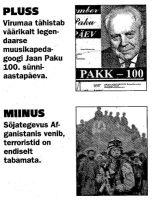 Virumaa Teataja, 24.11.2001