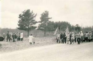 Mälestuskivi punakaartlastele Ubjas, RM F 1077:6, SA Virumaa Muuseumid, http://www.muis.ee/museaalview/1640329.
