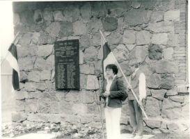 Mälestustahvli avamine Porkuni vallas langenutele, kõneleb ..., RM F 1429:11, SA Virumaa Muuseumid, http://www.muis.ee/portaal/museaalview/1330756.