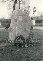 Mälestuskivi Tamsalus, 4.11.1978. RM F 1021:1, SA Virumaa Muuseumid, http://www.muis.ee/museaalview/1623427.