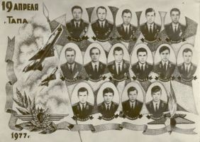 Hukkunud Tapa lendurid, PM F 3554:2, Järvamaa Muuseum, http://www.muis.ee/museaalview/240787. Kas siin fotol on ainult reisijatena lennukis olnud lennuväeohvitserid?
