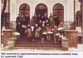 Foto: 24.02.1930. Tapa muuseum.