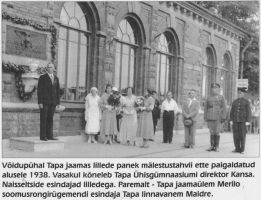 Foto: 23.6.1938. Tapa muuseum.