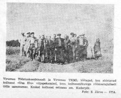 """Viru Sõna"" 28.08.1948."