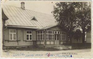 Georg Lurichi sünnimaja Väike-Maarjas. Foto: J. Kadakas, 1920-ndad aastad. ESM F 20:202/A 468, Eesti Spordimuuseum, http://www.muis.ee/museaalview/80530.