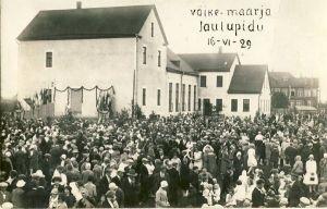 Väike-Maarja laulupidu, RM F 714:4, SA Virumaa Muuseumid, http://www.muis.ee/museaalview/1718311.