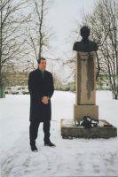 Foto: Ellu Moisa, 26.02.2004. Kõneleb indrek Keskküla. Väike-Maarja muuseumi kogu.