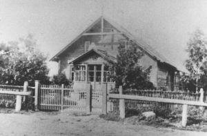 Köstri maja 1920-ndatel aastatel. Väike-Maarja muuseumi kogu.