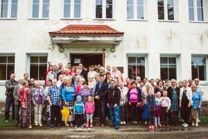 Foto: Kadila ajalootuba. Vilistlaste kokkutulek 19. augustil 2018 (kooli 80. juubel).
