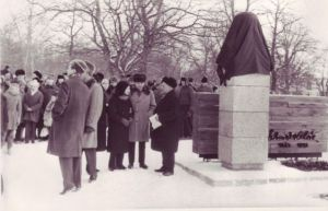 E. Vilde monumendi avamise eel, TALK EVMF 530:1 EVMF 530, Tallinna Kirjanduskeskus, http://www.muis.ee/museaalview/2256852.