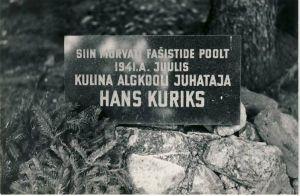 Puka, mälestustahvel, RM F 1329:19, SA Virumaa Muuseumid, http://www.muis.ee/museaalview/1421211.
