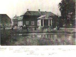 Roela mõis u. 1867-1868. Ferdinand von Wrangelli nimelise Roela Lasteaed-Põhikooli arhiiv.