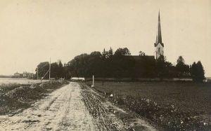 Viru-Jaagupi, postkaardi pöördel on kiri ja postitemplid 1924.a. RM F 205:15, SA Virumaa Muuseumid, http://www.muis.ee/museaalview/1984137.