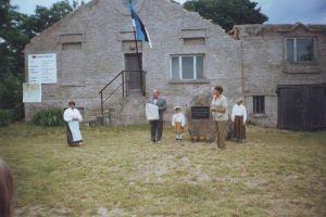 Monumendi avamine 25. juunil 2005. Foto: Kunda küla rahvamaja arhiiv.